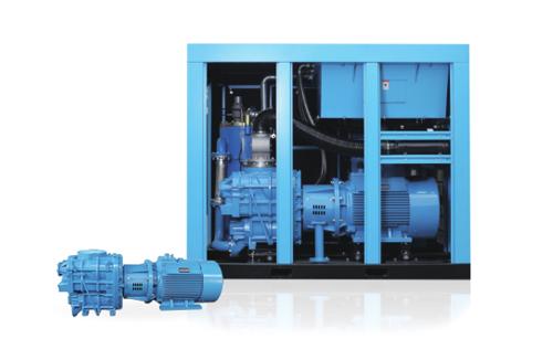 异步两级压缩螺杆式空气压缩机(D系列)