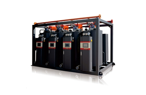 0.3-2T免报检一体冷凝式蒸汽发生器(模块化蒸汽量1T-2T/h蒸汽发生器)